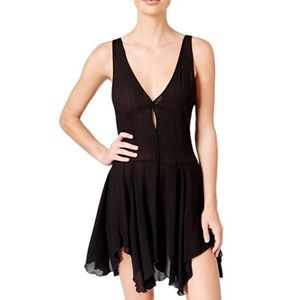 Free People Double Down Slip Dress